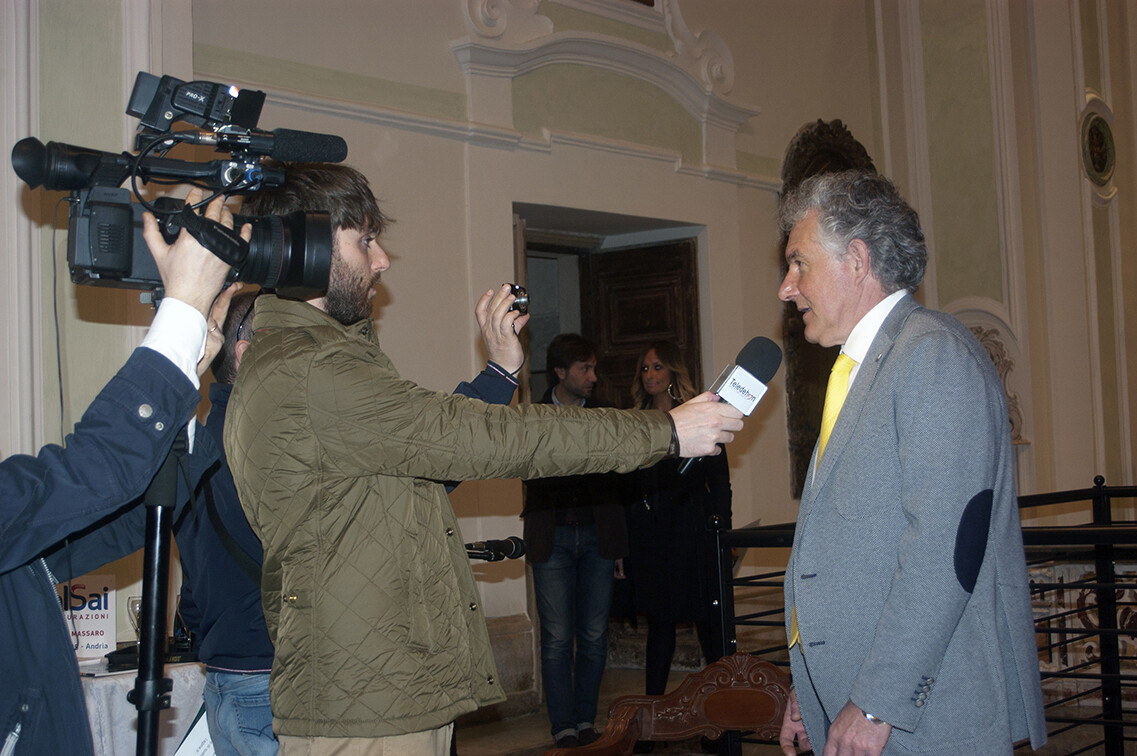 Roberto Piaia Interview in Andria - Italy