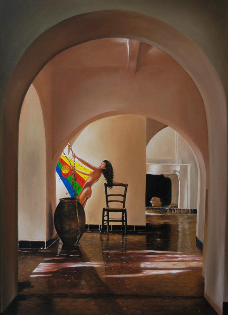 Libertà – olio su tela 70x50 cm.
