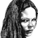 Дарья Портретный Рисунок