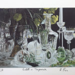 Crystal Glass Transparency Lithography