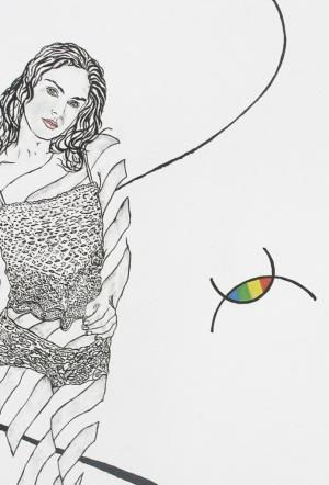 Eva Drawing 3