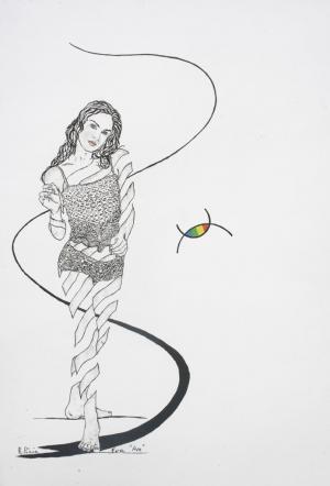 Eva Drawing