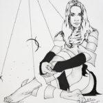 Lisa Guerriera Disegno