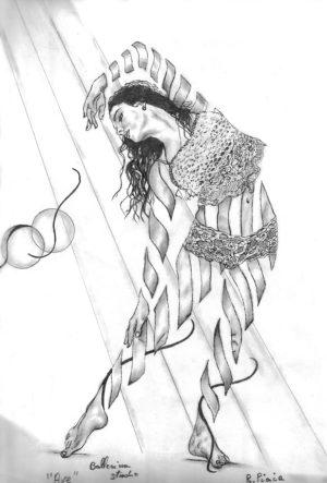 Ева Танец Карандаш