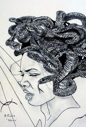 Odara Medusa Disegni