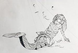 Odara Siren Drawing