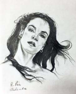 Studie für Eva Die Besten Bilder mit Bleistift
