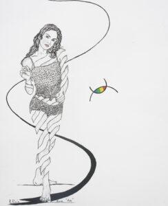 Eva- Zeichnungen mit Bleistift Beste Bilder