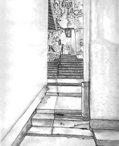 Die Treppe Die Besten Bilder mit Bleistift